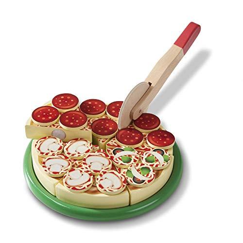 Melissa & Doug Wooden Pizza | Pretend Play | Play Food | 3+ | Gift for Boy or Girl £5.58 Amazon Prime / £10.07 Non Prime
