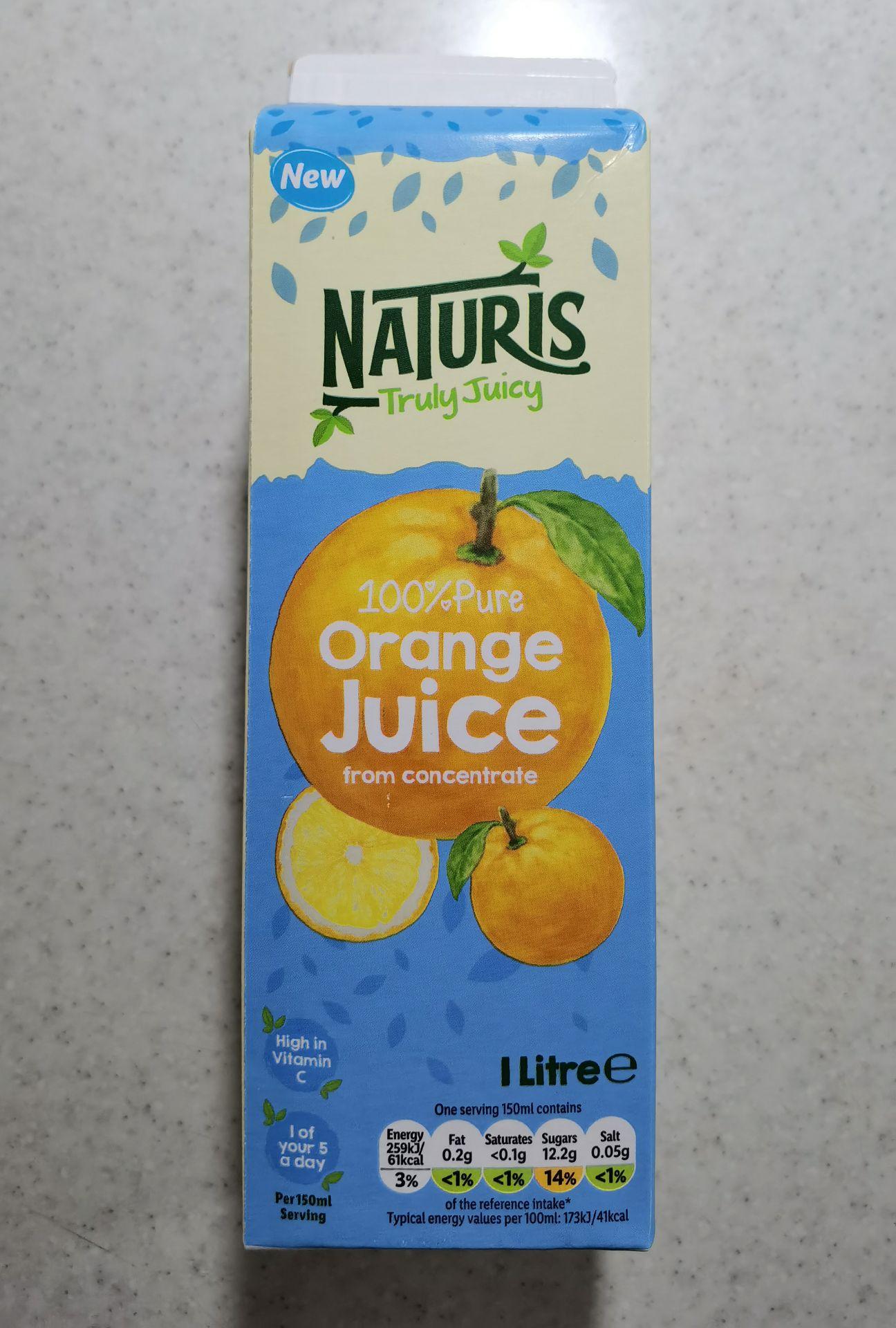 Naturis orange juice 15p instore @ Lidl Southampton