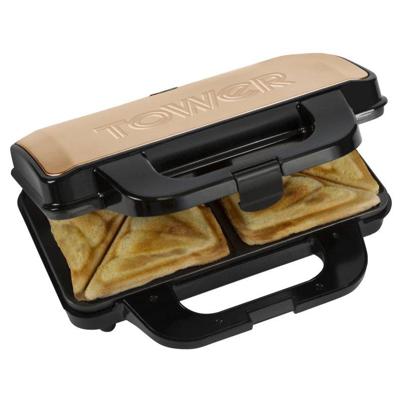 Tower Deep Fill Sandwich Maker - Rose Gold £18.00 instore @ B&M