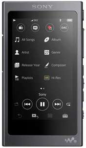 Sony NW-A45 3.1 Inch Touch Display High Resolution Audio Walkman 16 GB, 45 Hours Battery Life - Black £132.20 at Amazon