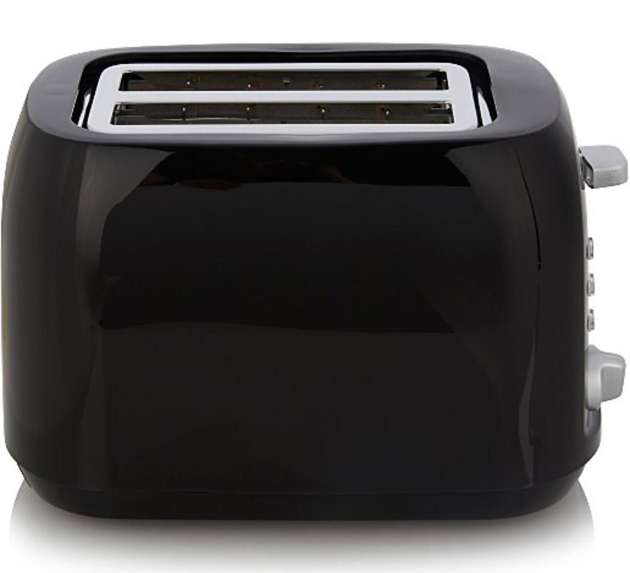 George 2 slice toaster black £10 (Free Click & Collect) @ George (Asda)