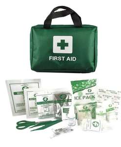 90 Piece First Aid Emergency Kit 4.99 Delivered @ home-treats-uk ebay