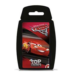 Disney Pixar Cars 3 Top Trumps Card Game £2.78 Prime (+£4.49 Non Prime) Sold by Booghe Shop and Fulfilled by Amazon