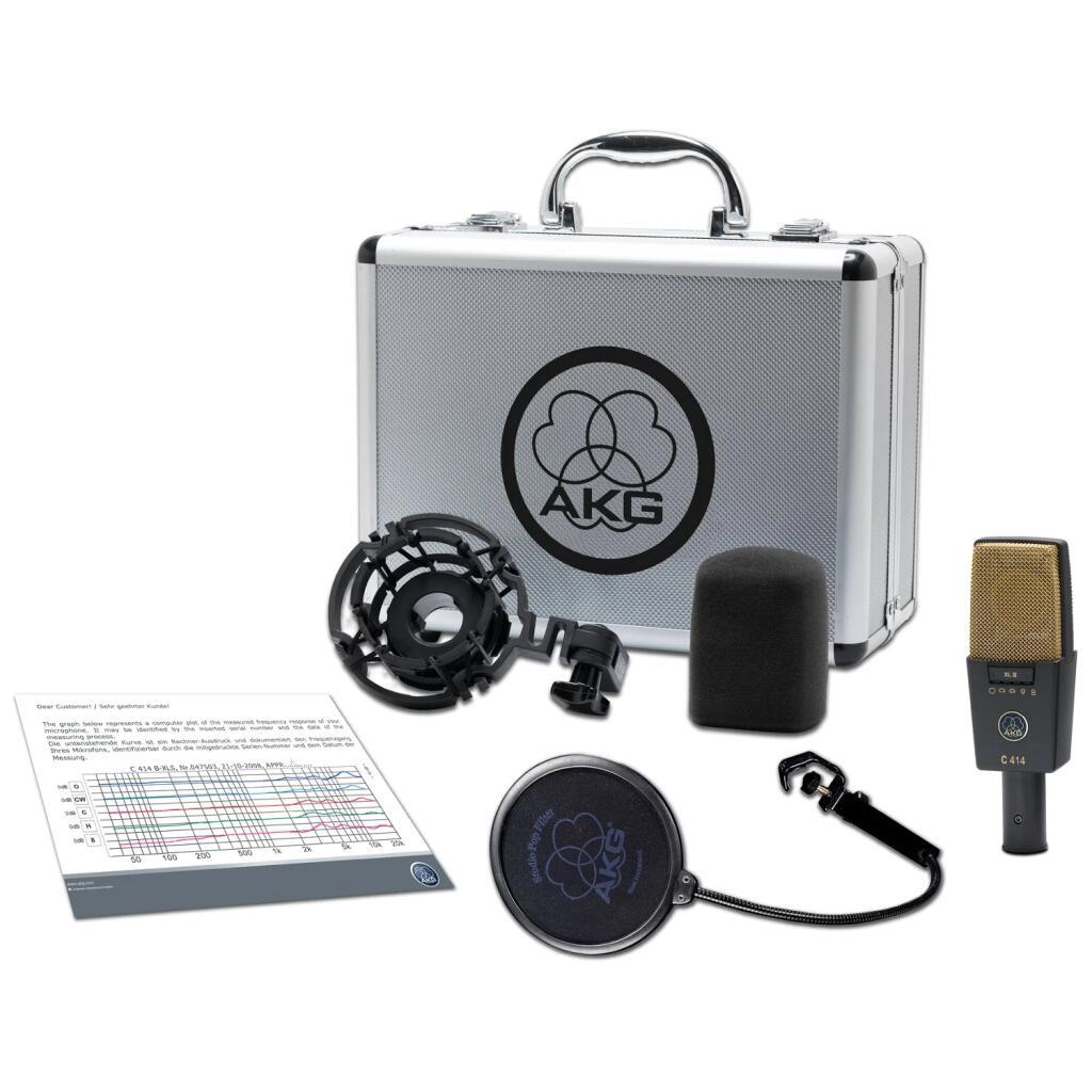 AKG C 414 XLII Studio Condenser Microphone £639 @ Bax Shop