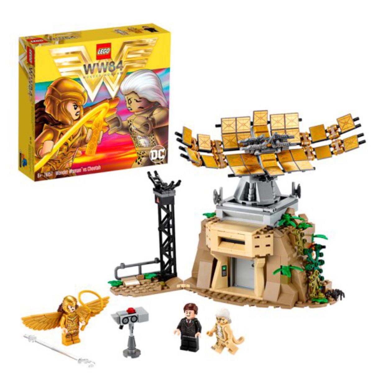 LEGO 76157 DC Super Heroes Wonder Woman vs Cheetah with Max Minifigures Building Set £17.50 at Amazon Prime (+£4.49 Non Prime)