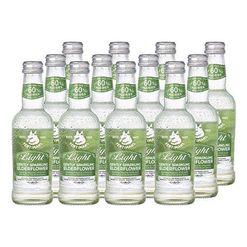 Fentimans Light Gently Sparkling Elderflower, 12 x 250ml Bottles - £6.45 (+£4.49 Non Prime / S&S £6.13) @ Amazon