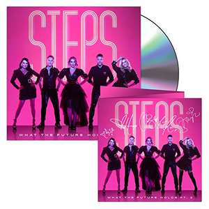 PRE-ORDER Steps Audio CD - What the Future Holds Pt. 2 (Limited Signed Edition) - £14.99 (+£4.49 Non-Prime) @ Amazon