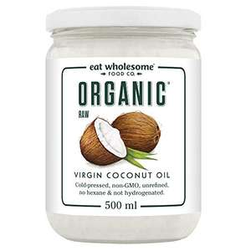 Organic Raw Cold-Pressed Virgin Coconut Oil 500 ml - £3.29 (+£4.49 Non-Prime) @ Amazon