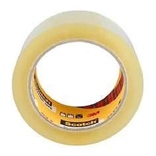 3M Scotch 371 Box Sealing Tape Transparent 50mm x66m - Pack of 6 - £4.42 (+£4.49 Non-Prime) @ Amazon