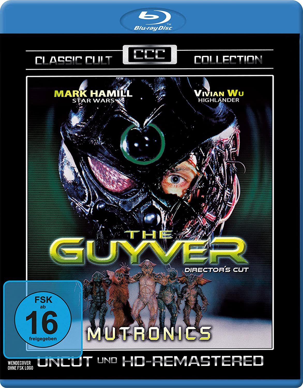 The Guyver Uncut blu ray - £4.37 + £2.99 NP (UK Mainland) Sold by Amazon EU @ Amazon