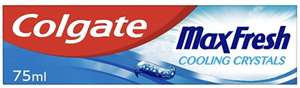 Colgate Max Fresh Cooling Crystals Toothpaste 75 ml - £1 (+£4.49 NP) @ Amazon