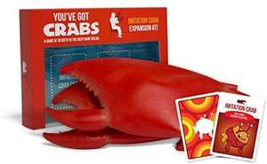Exploding Kittens: You've Got Crabs expansion pack - £7.13 (+£4.49 Non-Prime) @ Amazon