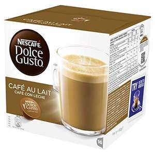 Nescafé Dolce Gusto Cafe Au Lait Coffee Pods (1 Pack = 16 Pods) - £2.99 (£4.49 NP) @ Amazon