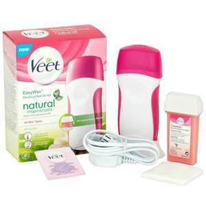 Veet EasyWax Electrical Roll On Kit @ weeklydeals4less £12 delivered