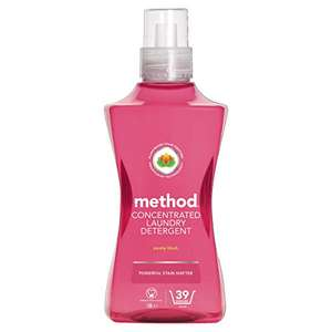 Method Concentrated Laundry Detergent 39 Washes - All Scents - £6 / £5.10 S&S @ Amazon Prime (+£4.49 non Prime)