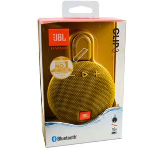 JBL Clip 3 Wireless Portable Genuine Bluetooth Waterproof Speaker £29.99 at ebay/genuine_for_you