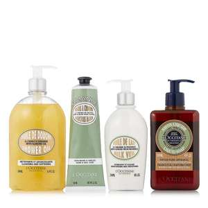 L'Occitane 4 Piece Almond Top To Toe Collection £57.91 Delivered @ QVC & 4 Easy Pays (if new & not using easy pays get £5 off with FIVE4U)