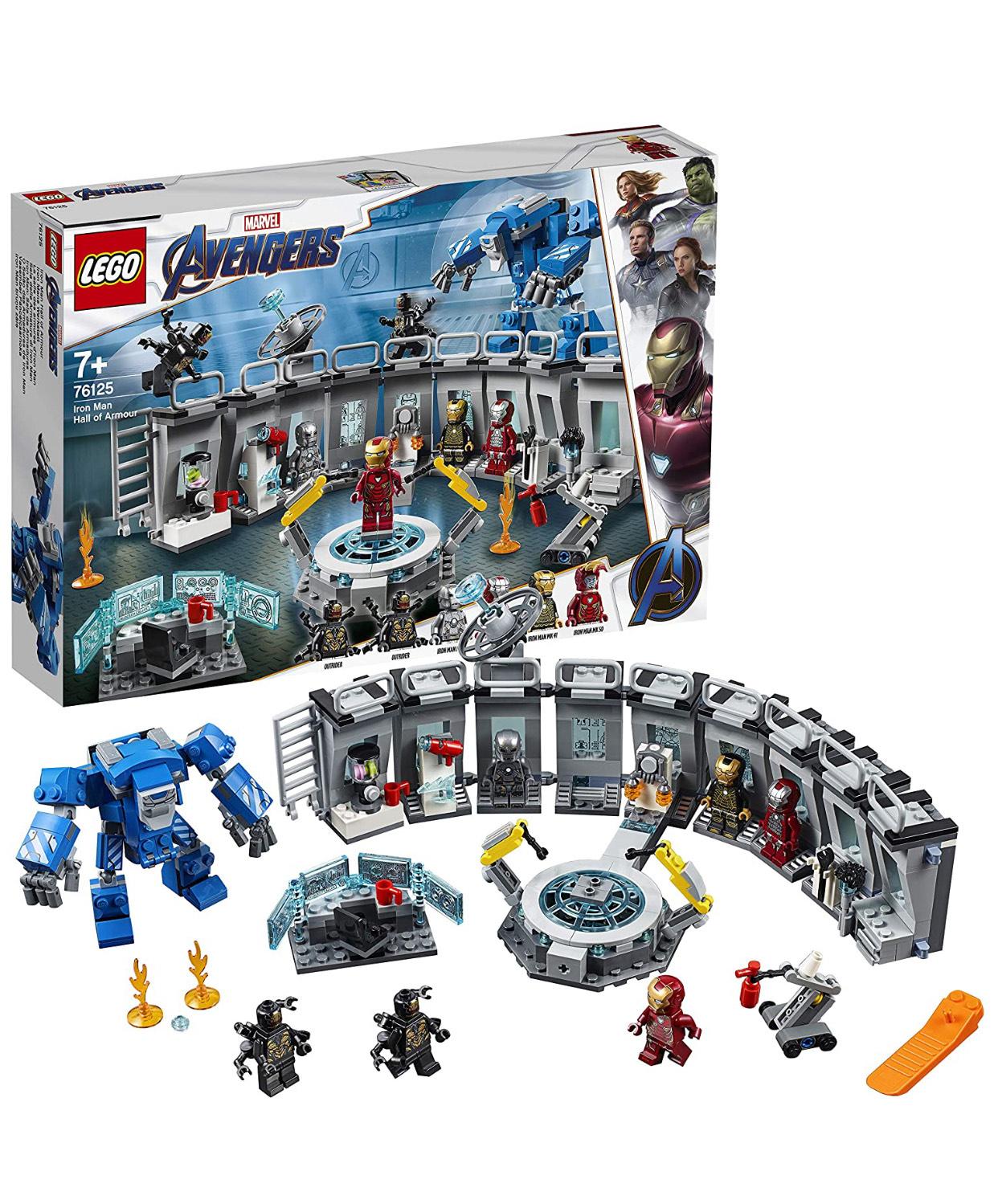 LEGO Marvel Avengers 76125 Iron Man Hall of Armor Lab Set £41.99 at Smyths Toys
