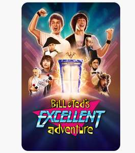 Bill and Ted's Excellent Adventure £3.99 4K at iTunes Store