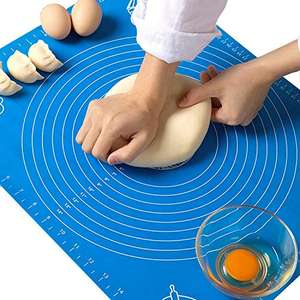 Big Non-Stick and No-Slip Silicone Baking Pastry Mat - 50% OFF - £4.99 Prime (£9.48 Non Prime) @ Sold by haquno UK and Fulfilled by Amazon