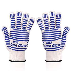 932°F Heat Resistant EN407 Cert BBQ Gloves- Light-weight & Flexible £10.95-£11.89 Prime + £4.49 NP Sold By Light Snow & Fulfilled By Amazon