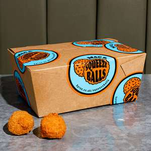 Free Mac & Squeeze Balls with order when ordering for Collection or at one of our outdoor tables at Byron Restaurants