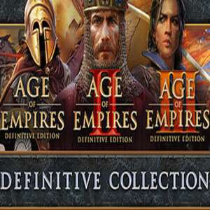 Age of Empires Definite Collection on Steam - All 3 classic games in remastered 4k - £18.76 at Steam Store