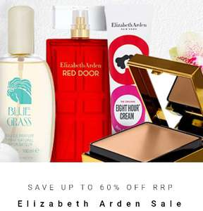 Up to 60% off Elizabeth Arden - from £5.50 at All Beauty - £2.95 delivery / free over £20