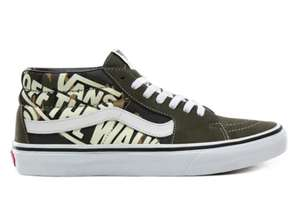 Vans Off The Wall Quarter SK8 Mid Trainers Now £26 with code Free delivery (Mainland UK Only) @ Vans