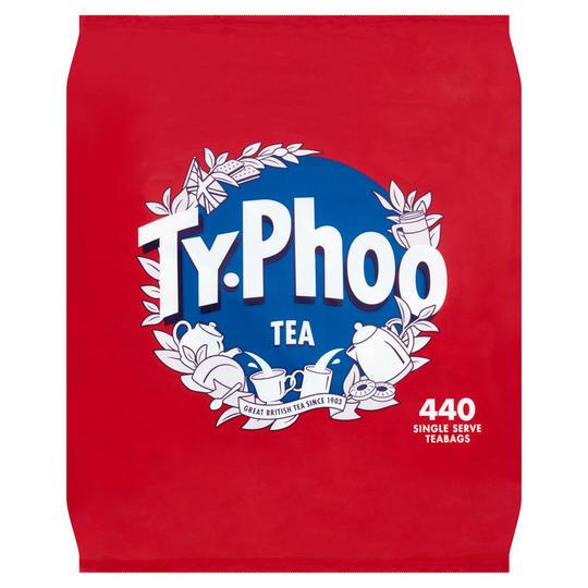 Typhoo 440 Single Serve Teabags 1kg £4 at iceland