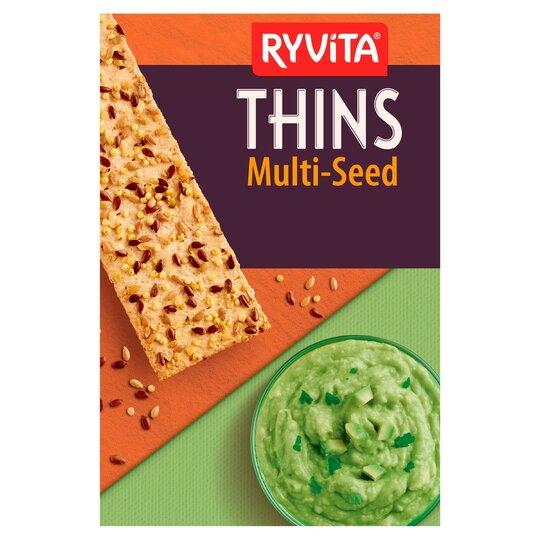 Ryvita thins 125g £1 (Clubcard price) at Tesco
