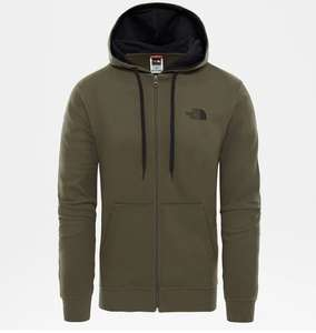 North Face Zip Hoody size XL in Green £13 at Next O2 London