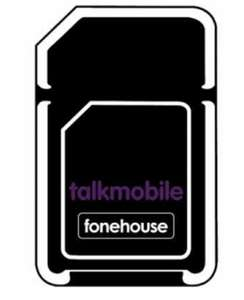 12 Month Sim Only - 30GB Data + Unlimited Mins & Texts - £12pm (+ £48 Claimable Cashback / £8 Effectivepm) On Talkmobile @ Fonehouse