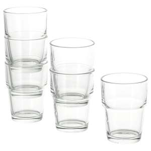 REKO Clear Glass 17cl 6 Pack for £1 (In-Store) @ IKEA (£2 DPD pickup / £3.95 Order & Collect / £4 Delivery)