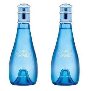 TWO Cool Water Woman Fragranced Eau Deodorant 100ml Sprays now £15 + Free UK Mainland Delivery using code @ Beauty Base