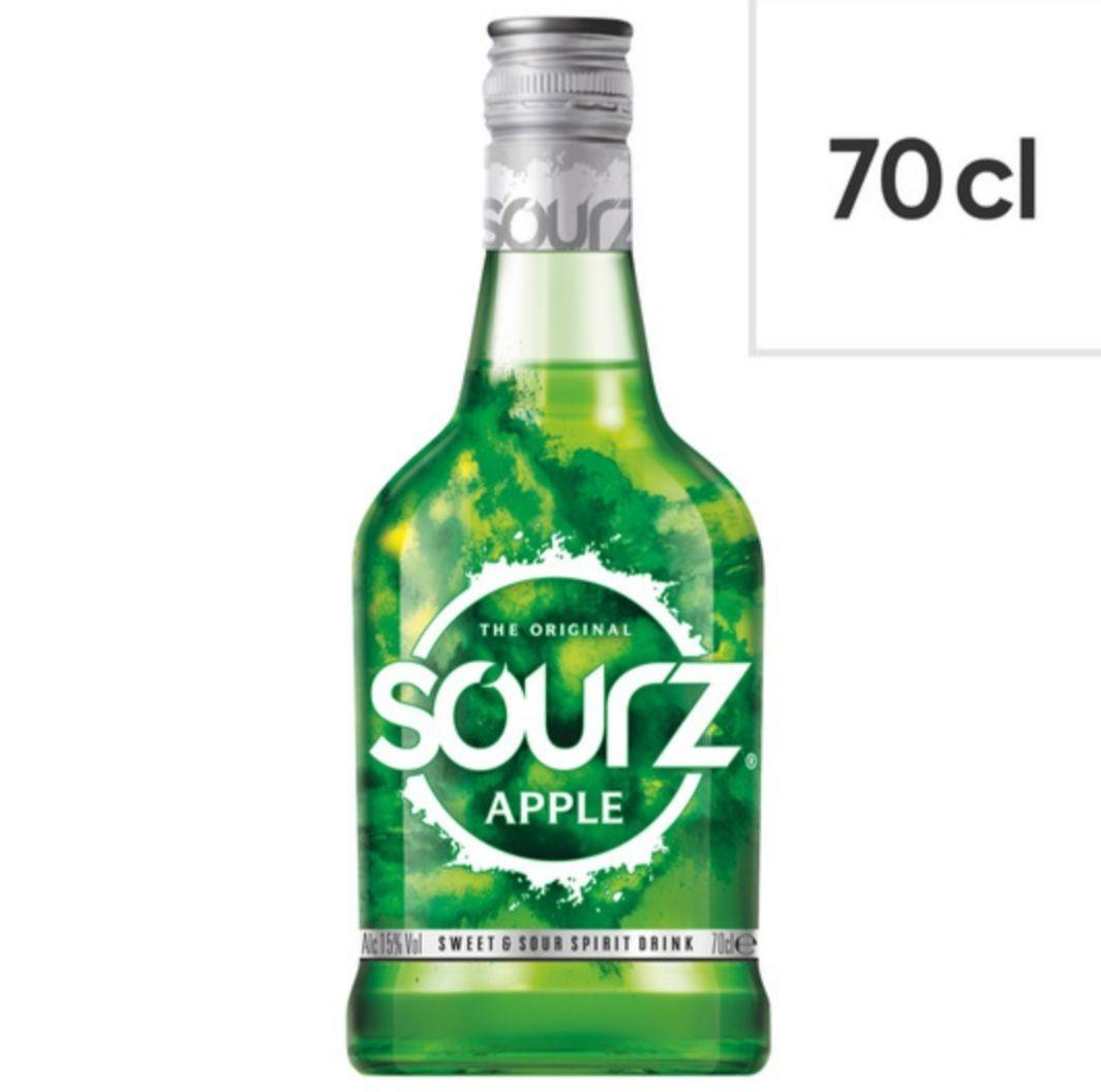 Sourz Apple 70cl £7 @ tesco (clubcard price)