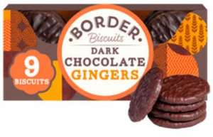Border Dark Chocolate and Ginger biscuits 2 for £2 in Asda