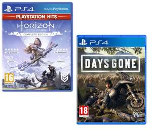 Horizon Zero Dawn: Playstation Hits for PlayStation 4 - £7 // Days Gone £14 Delivered @ AO (UK Mainland only)