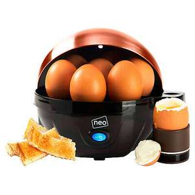 Neo Copper Electric egg cooker - boiler, poacher & steamer (fits 7 eggs) for £11.99 delivered using code @ eBay / neodirect