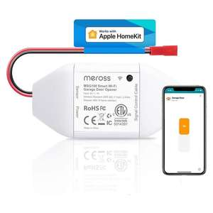 Meross Smart Garage Door Opener Remote - Works with Apple HomeKit, Alexa, Google Assistant - £28.54 Sold by Meross Home EU / Amazon