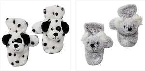 Mittens £1.50 Dinosaur, Dalmatian, Unicorn & Koala (Free Click & Collect / Selected Stores) @ Dunelm
