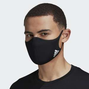 adidas Face Covers (3 pack) - Various sizes and colour options now £8.92 delivered using code @ adidas