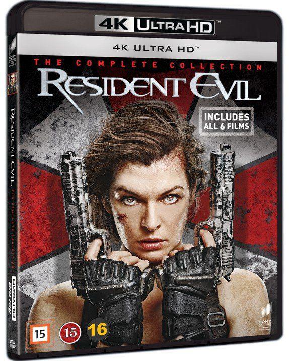 Resident Evil 1-6 complete 4K UHD £39 delivered @ Coolshop