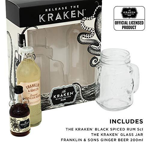 Kraken Rum Gift Set – The Perfect Storm £7.61 prime / £12.10 non prime @ Amazon