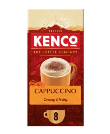 Kenco Cappuccino 8 pack £0.99 at Asda Great Yarmouth