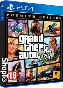 Grand Theft Auto V: Premium Edition PS4 £12.59 @ Playstation Store