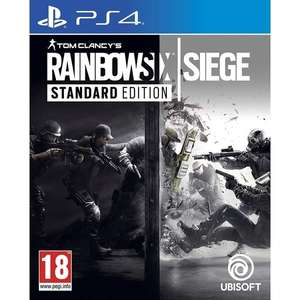 Tom Clancy's Rainbow Six Siege PS4 Game £12.19 @ 365games.co.uk