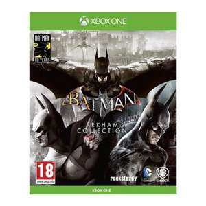 [Xbox One] Batman: Arkham Collection - £14.95 delivered @ The Game Collection