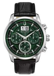 Bulova Men's Chronograph with Black/Green Dial - £169 Click and Collect / £172.95 Delivered @ Argos