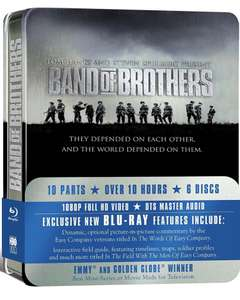 Band of Brothers Complete Series (Commemorative 6-Disc Gift Set in Tin Box) Blu-ray [Pre-owned] - £6 / £7.95 Delivered @ CeX